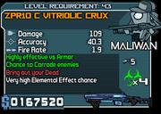 43 ZPR10 C Vitriolic Crux*