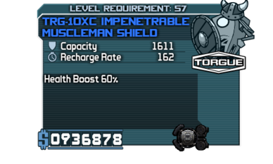 TRG-10XC Impenetrable Muscleman Shield