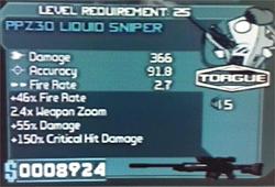 Torgue PPZ30 Liquid Sniper 20-01-10