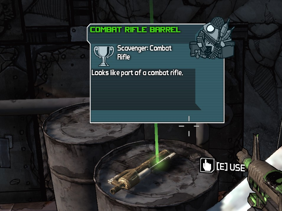 scavenger combat rifle borderlands wiki fandom powered by wikia