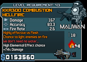 43 kka300 Combustion Hellfire