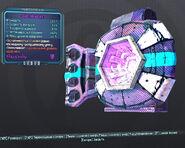 BorderlandsPreSequel адаптивный щит (26) фиолетовый