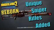 Borderlands 2 Reborn - Все новые снайперские винтовки