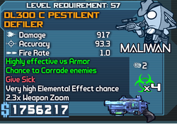DL300 C Pestilent Defiler OBY