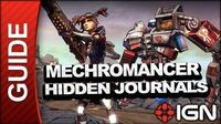 Hidden Journals - Mechromancer Walkthrough