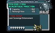 PCN-550 C45H Alacritous Procyon