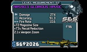AR590.3 Glorious Havoc
