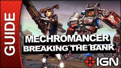 Breaking the Bank - Mechromancer Walkthrough