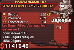 SPR40 Hunter's Striker