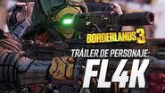 """Borderlands 3 - Tráiler de personaje de FL4K """"La caza"""""""
