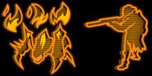 Rama cazador