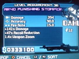 Dahl Punishing Stomper