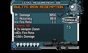 RWL770 Iron Redemption