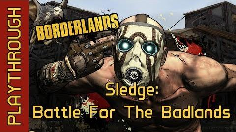 Sledge Battle For The Badlands