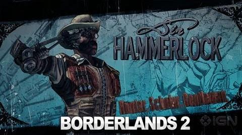 Borderlands 2 Sir Hammerlock Trailer