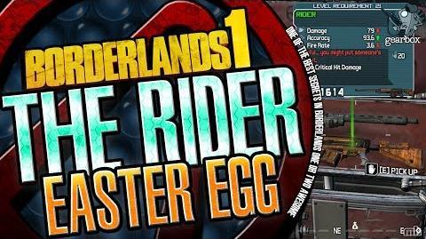 Borderlands The Rider Easter Egg