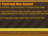 True Vault Hunter Mode