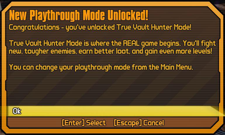 True Vault Hunter Mode | Borderlands Wiki | FANDOM powered