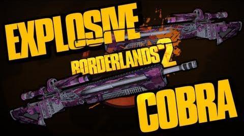 Borderlands 2 How to Get The Cobra Explosive Sniper Rifle DLC