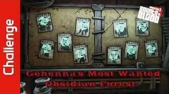Gehenna's Most Wanted (Obsidian Forest)