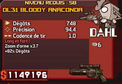 DL31 Bloody Anaconda