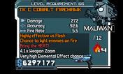 TK C Cobalt Firehawk