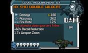HX 540 Double Wildcat