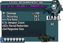 HX 540 Double Anarchy happypal