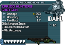 ZPR100 Hunter's Shotgun happypal