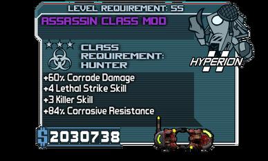 Assassin Class Mod