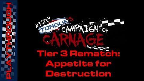 Tier 3 Rematch Appetite for Destruction