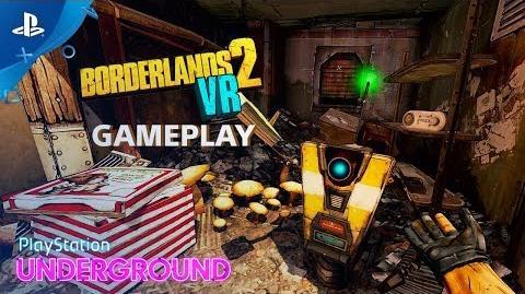 Borderlands 2 VR Gameplay PlayStation Underground