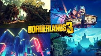 The Gorgeous Environments in Borderlands 3