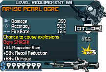 AR490 Pearl Ogre happypal