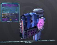 BorderlandsPreВысооктановая взрывная волна' (щит) (26) фиолет