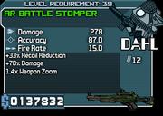 39 AR BATTLE STOMPER