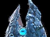 Огромный ледяной шуггурат