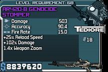 AR420-B Genocide Stomper
