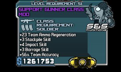 Support Gunner Class000 Mod