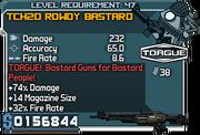 Tch20 rowdy bastard 47