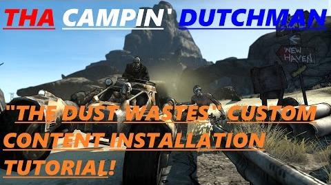 """Borderlands """"THE DUST WASTES"""" custom content installation tutorial! *Borderlands custom content*"""