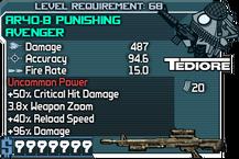AR40-B Punishing Avenger happypal