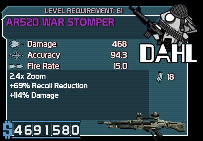 AR520 War Stomper