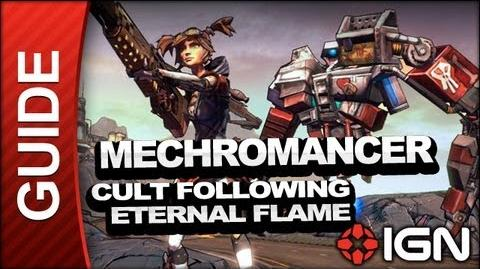 Borderlands 2 Mechromancer Walkthrough - Cult Following- Eternal Flame - Mechromancer Walkthrough