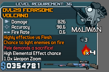 Dvl29 fearsome volcano