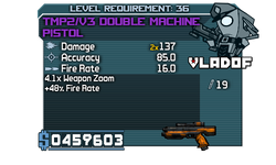 V3 Double Machine Pistol
