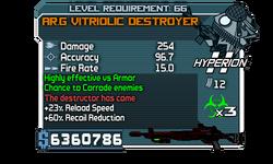 AR.G Vitriolic Destroyer