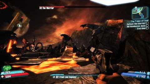 Borderlands 2 Final Boss Fight Ending Easy way to kill Warrior in SP