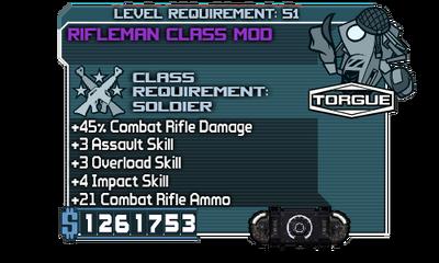 Rifleman Class Mod00000