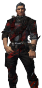 BL2-Axton-Skin-Splattered With Red